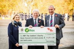 ABF The Soldiers' Charity funds grow by over £11...